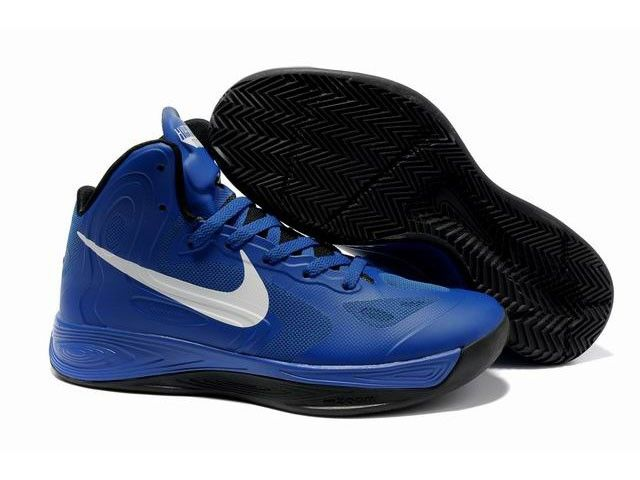 Buy Cheap Nike Zoom Hyperfuse 2012 Jeremy Lin Shoes Blue/Black/White Online - Jeremy Lin - Basketball Men