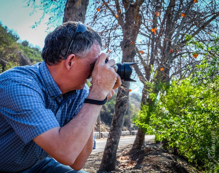 John Edward Bankson shooting with a Fujifilm X-T1 camera.