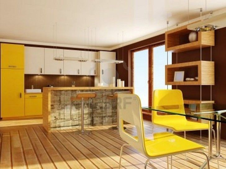 95 best bedroom design images on pinterest master for Cute yellow kitchen ideas