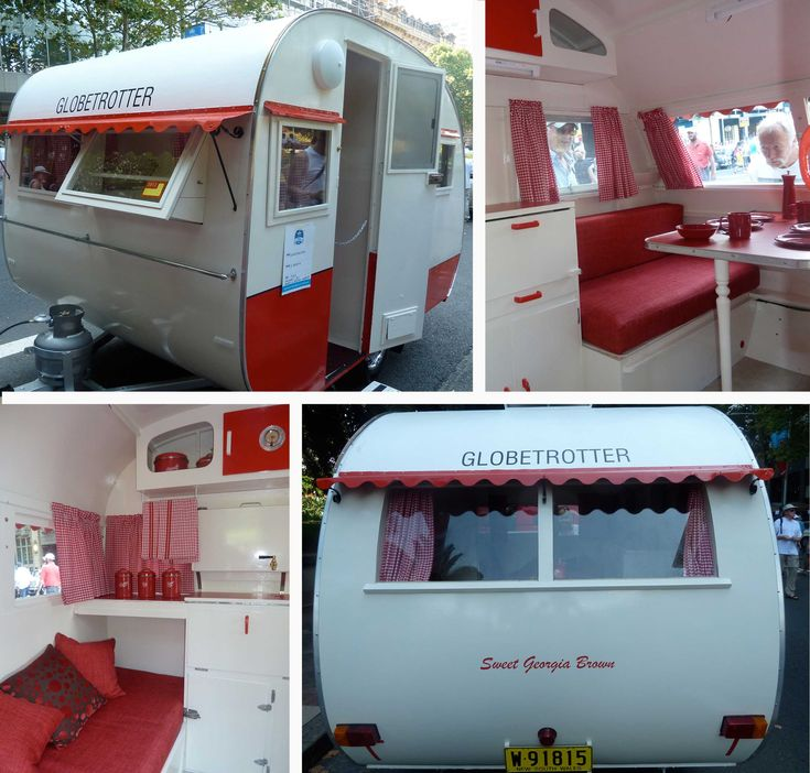 Cute caravan (Louise Rastall Interior Stylist)