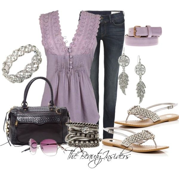 Really want to go school shopping!: Eyelet Pintuck, Jeans Outfits, Cute Accessories, Clothing, Purple Blouses, Pintuck Blouses, Eyelet Top, Style Pinboard, Outfits Ideas