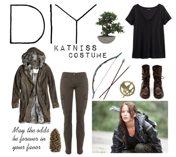 Katniss Costumes For Halloween