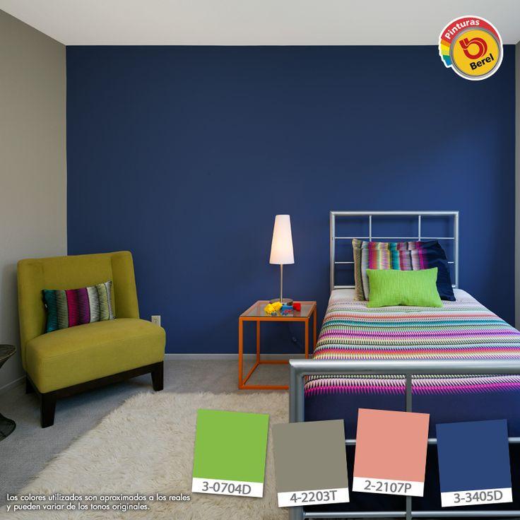 25 best decoraci n para casa images on pinterest for Combinacion de colores para habitacion