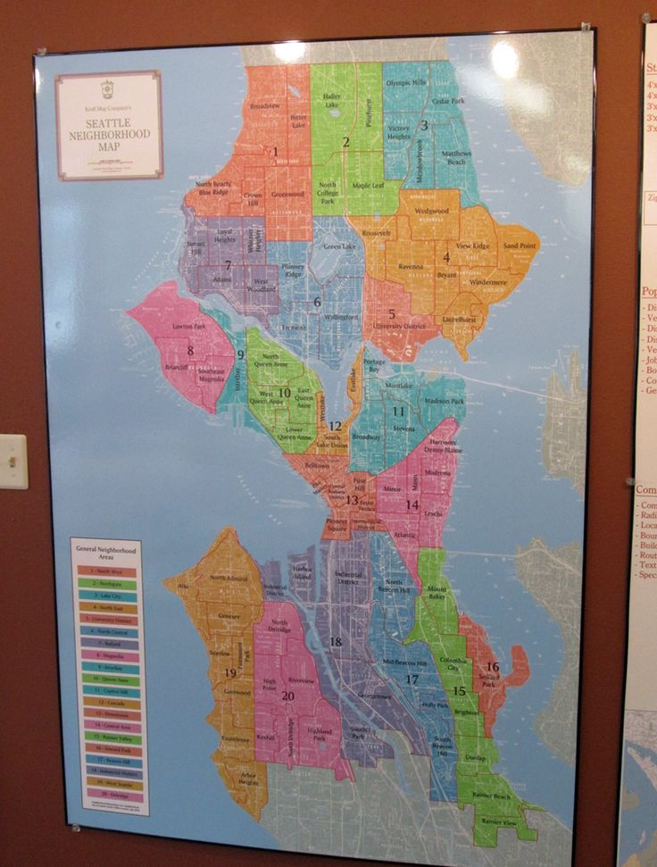 38 best Local Maps images on Pinterest Seattle Washington state