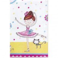 Rachel Ellen Brithday Ballerina Tabelcover $5.95 Q50888