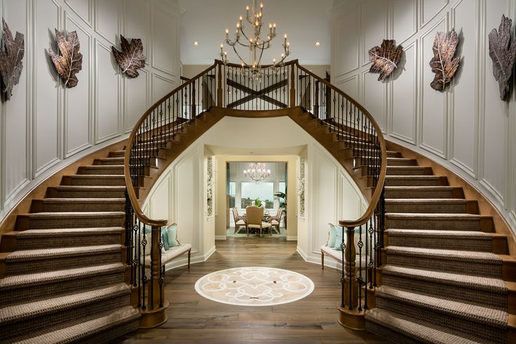 Toll Brothers - Two-Story Foyer