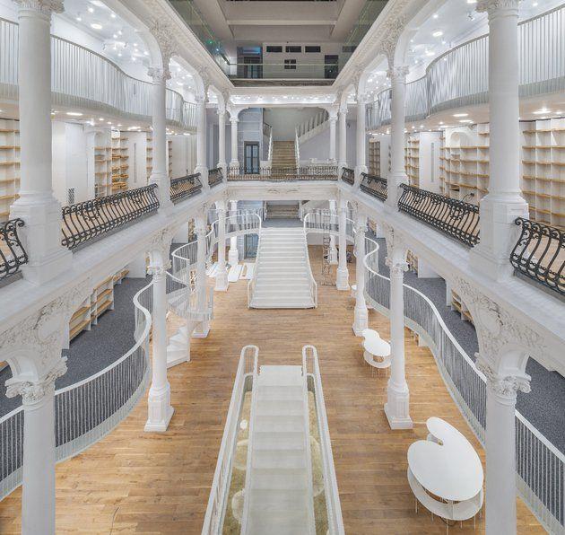 O nouă librărie Cărturești se deschide în centrul istoric al Bucureștiului