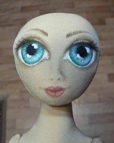 doll eye tutorial - Готовое лицо