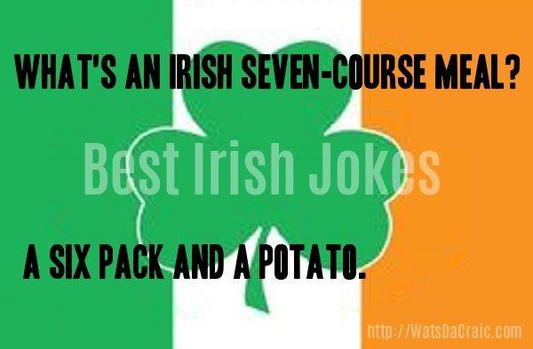 Today's short Irish joke from watsdacraic.com