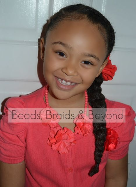 Beads Braids And Beyond 3 Cornrows To The Side Into One