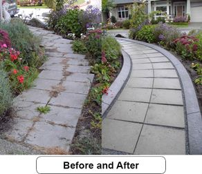 Before and afters can really show you the value our crew and product can bring