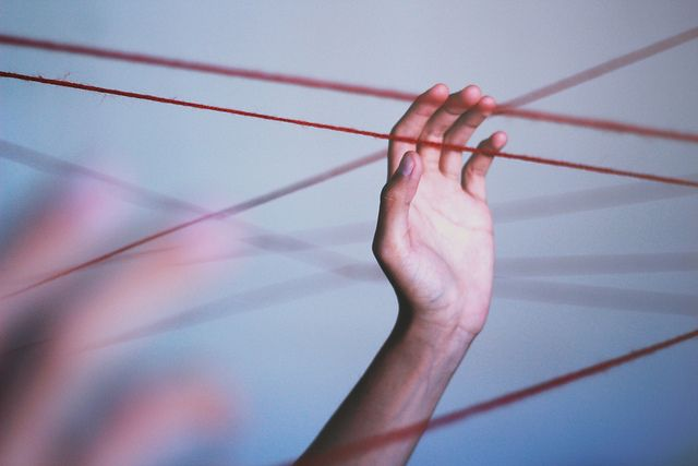 """""""How Sensitive Are These Threads You Hang From?"""" by Chris Vargas"""