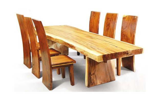 Recycled Wood Dining Set http://www.yunibali.com