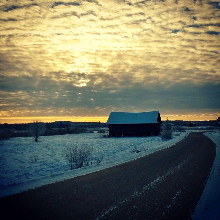Finland landscapes January 2016 Akaa