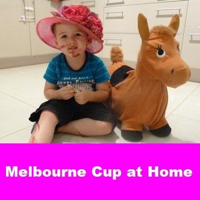 Melbourne Cup at Home  Race day arts and craft