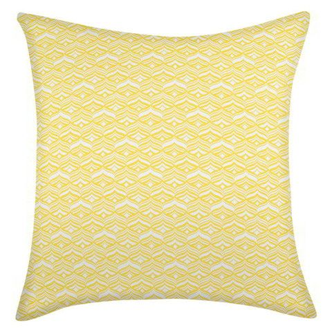 Avoca Sunshine Outdoor Pillow Stay STYLISH indoors, outdoors and everywhere in between.  When planning your outdoor space, keep in mind the look of the closest indoor room. A similar style and palette will ensure a smooth transition from indoors to out. Bring your outdoor space to life with our stunning outdoor fabrics with the strength to withstand the elements and all of life's moments.  All of our cushions are made in Melbourne Australia.