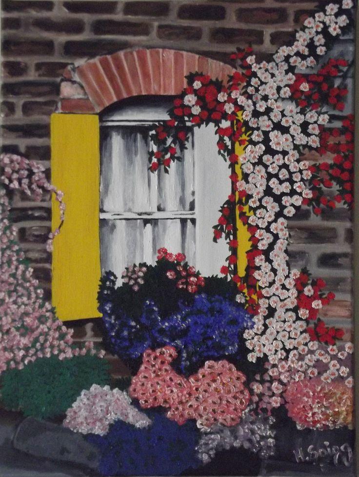 Ventana #01 November,2013 30 cm x 40 cm Oil on Canvas ( Óleo sobre tela) www.artsaigg.com