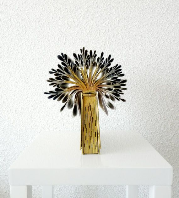 Don't toss that phone book out ... Book Art Sculpture Tree of Knowledge by abadova on Etsy, $46.00