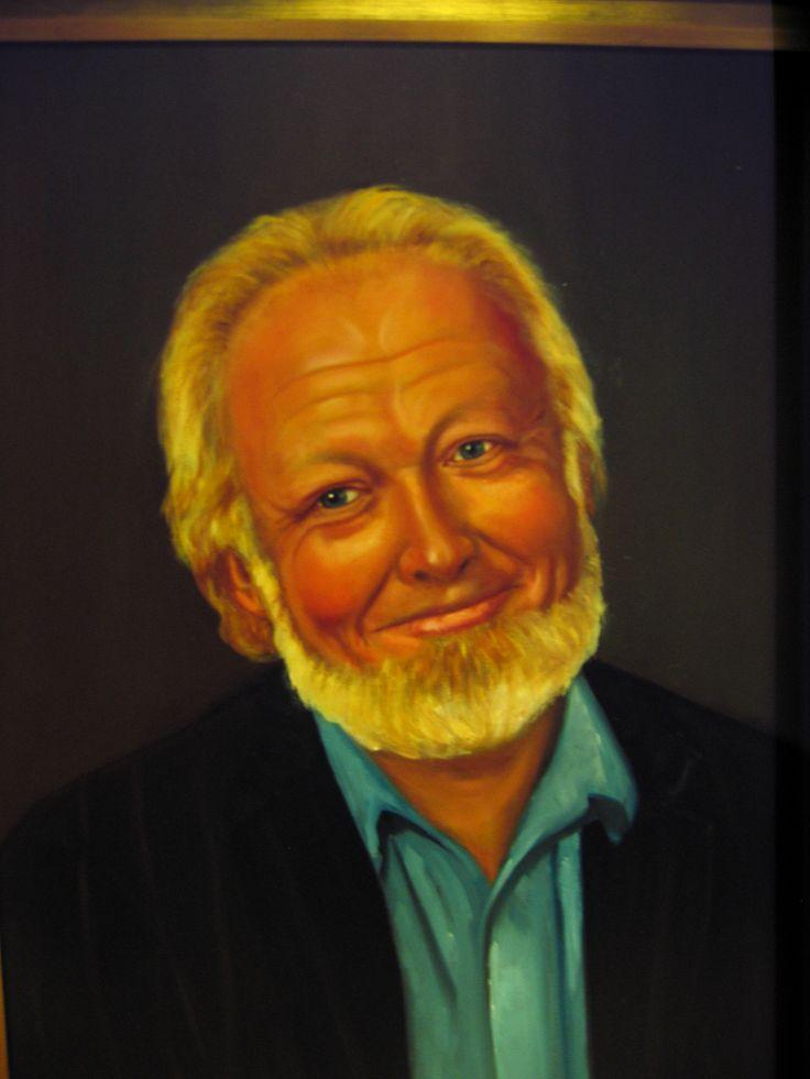 """"""" Lasse """" oil painting by Nansy N. Pedersen"""