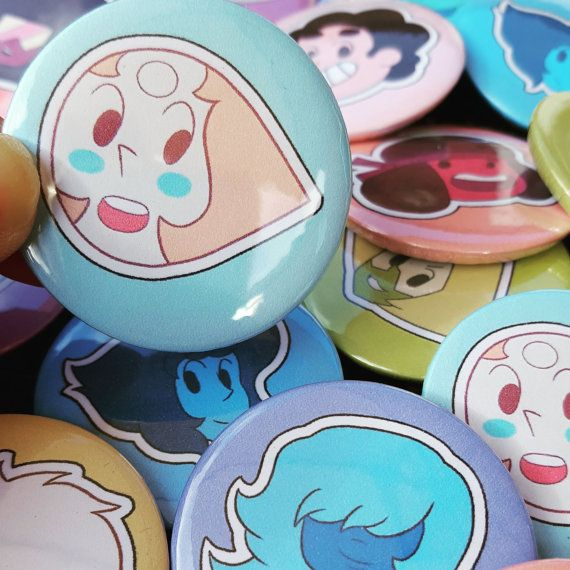 Steven Universe Gem Points Badges by MokkaQuill on Etsy
