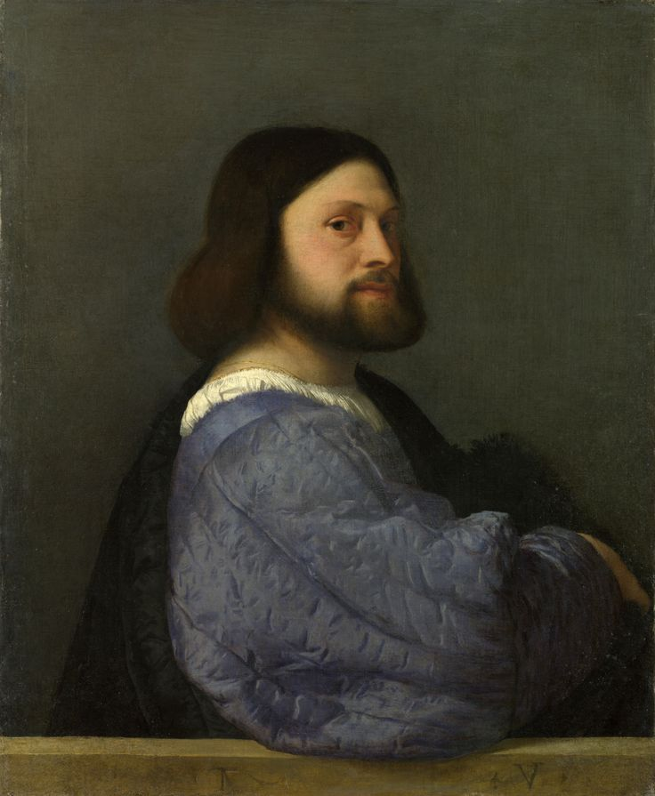 Tiziano Vecelli or Tiziano Vecellio (1488/1490-1576) was an Italian painter. He was born in Pieve di Cadore, in the Republic of Venice. Titian was one of the most versatile of Italian painters, equally adept with portraits, landscape backgrounds, & mythological & religious subjects. His painting methods, particularly in the application & use of color, would exercise a profound influence not only on painters of the Italian Renaissance, but on future generations of Western art.