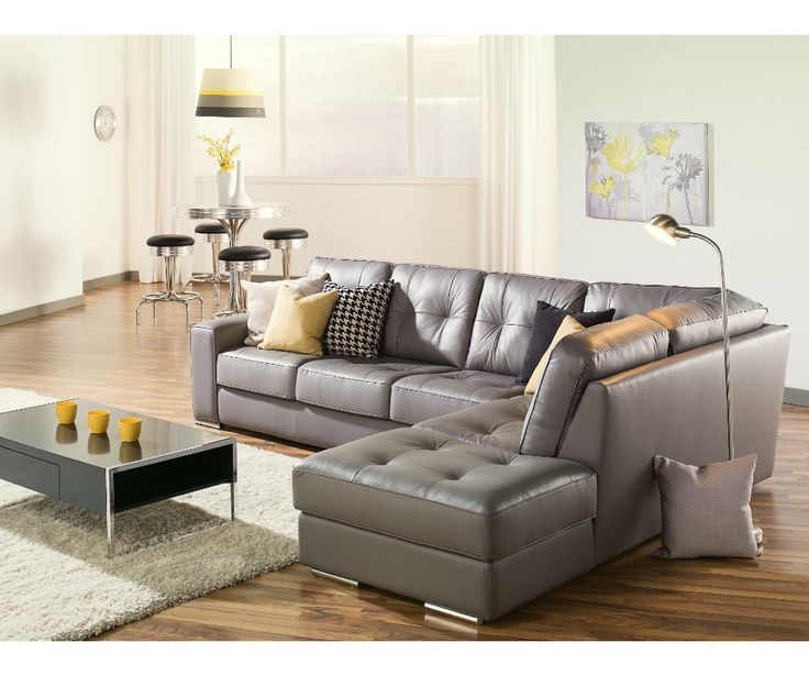 Best 20+ Grey Leather Sofa Ideas On Pinterest