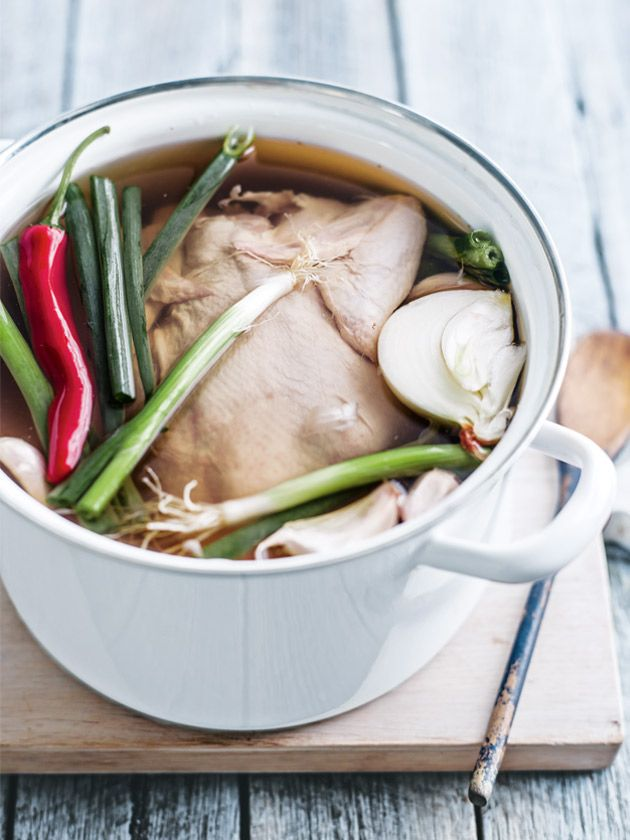 chicken master stock from donna hay magazine issue #65
