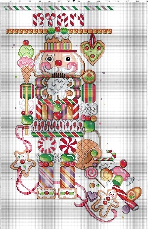 Nutcracker Christmas Stocking by Berwickbay on Etsy, $2.00