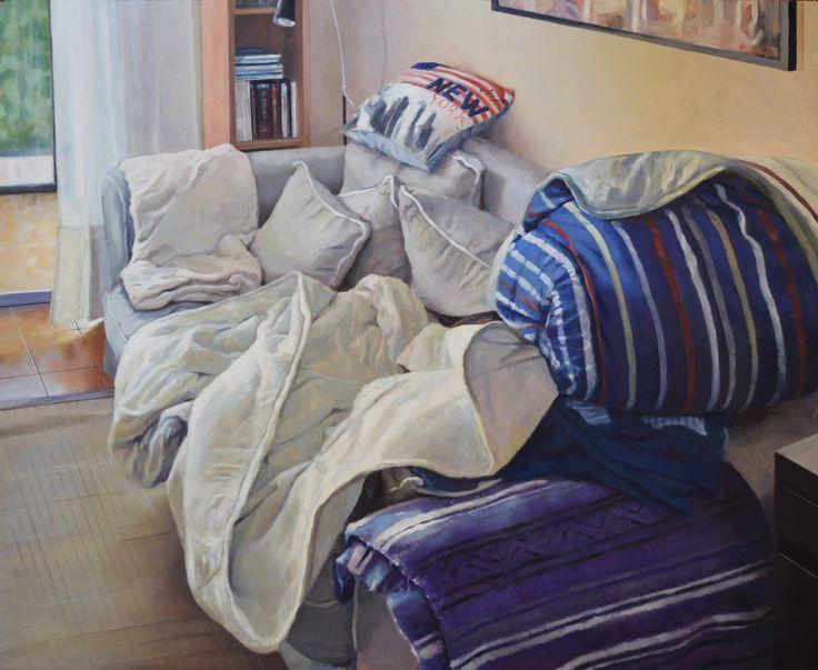 Oil on wood - 80 x 65 cm