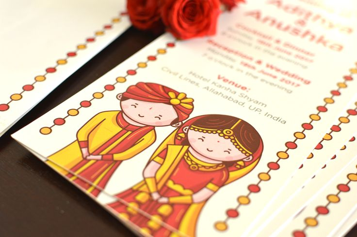 Hindu Punjabi Wedding Invitation - Cute Couple Collection. Explore the complete invitation at www.scdbalaji.com   #cutecouple #Punjabi #cuteinvitation #indianwedding #NorthIndianwedding #bride #groom #savethedate #cute #IndianIllustrator #invitationideas #invitationillustration #illustrationinspiration #characterdesign #Sikh #Punjabi #coimbatoreillustrator #coimbatoregraphicdesign #weddingstationery #weddingcard #weddinginspiration #HinduPunjabi