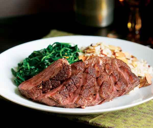 Chinese Five-Spice-Crusted Duck Breasts Recipe