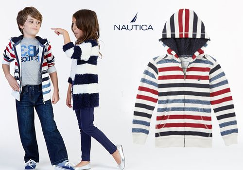 Παιδικό φούτερ Nautica για αγόρια και κορίτσια 7 έως 16 ετών από 69€ Μόνο 29€