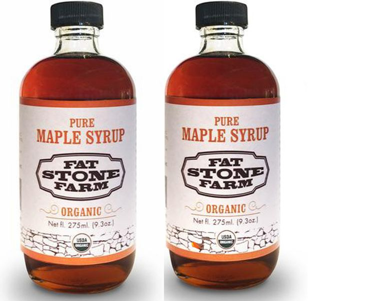 Organic Maple Syrup, 2 pack