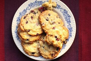 Cookies aux amélanches et au maïs péruvien