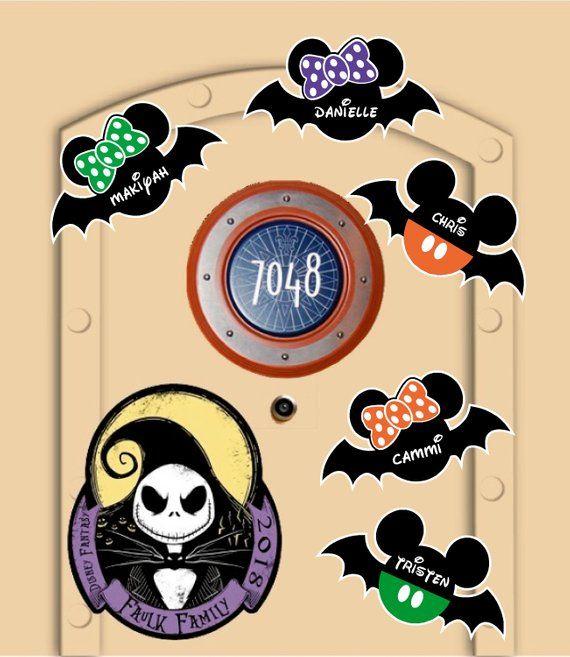 Nightmare Before Christmas Magnets Disneyland 2020 Disney Cruise Door Magnets Nightmare before Christmas Jack | Etsy