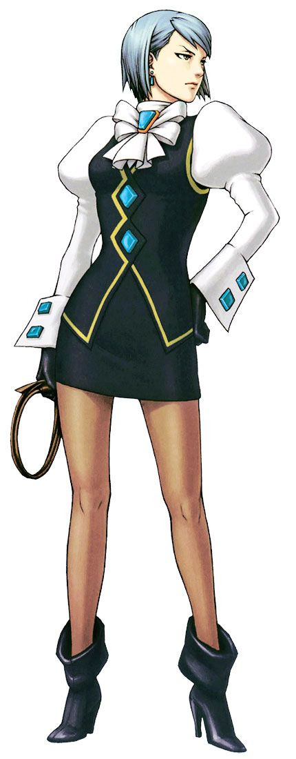 Franziska von Karma from Phoenix Wright: Ace Attorney Justice For All