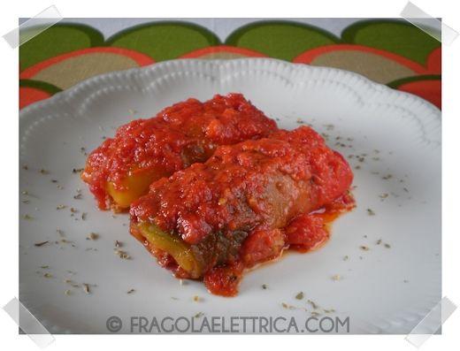 INVOLTINI DI PEPERONI fragolaelettrica.com Le ricette di Ennio Zaccariello #Ricetta
