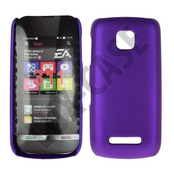 Hard Shell (Violetti) Nokia Asha 311 Kotelo