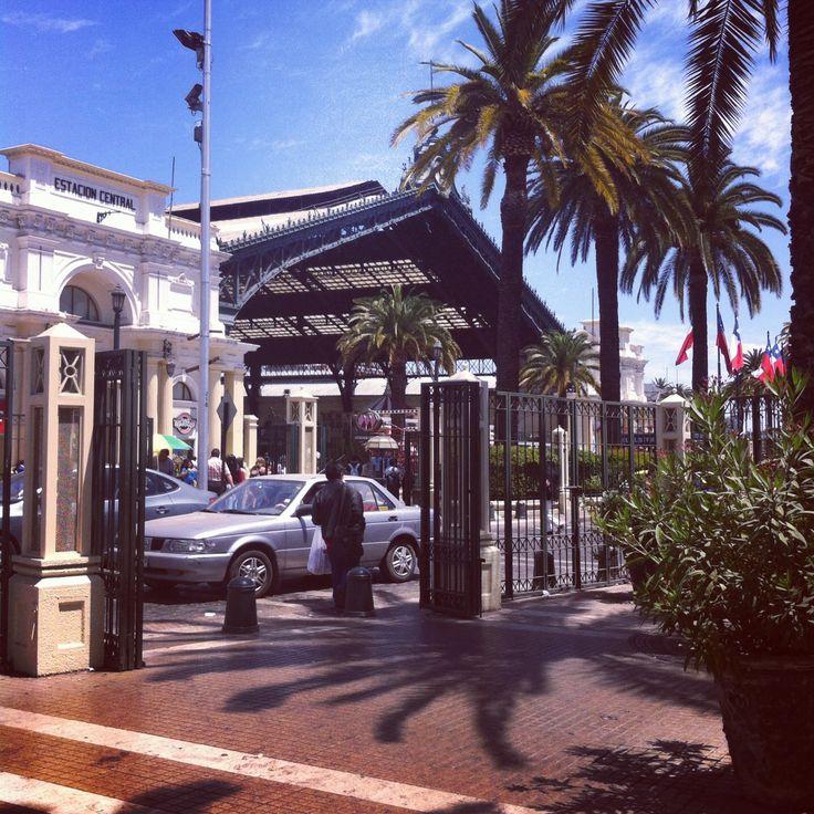 Estación Central, Santiago de Chile.