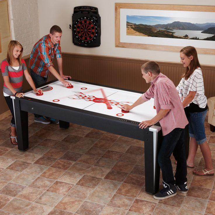 Fat Cat 7 ft. Super Slickshot Air Hockey Table - 64-3012