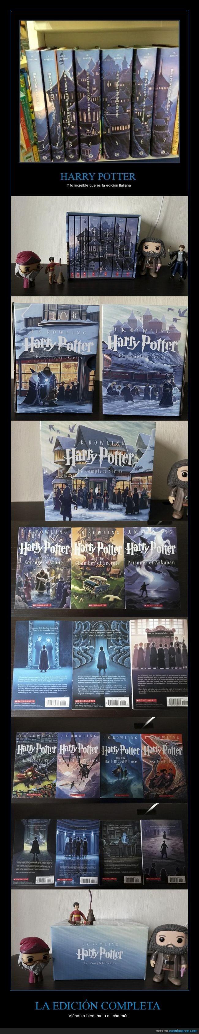¿Quieres ver la edición completa de Harry Potter? Cuidado, te dará mucha envidia - Viéndola bien, mola mucho más Gracias a http://www.cuantarazon.com/ Si quieres leer la noticia completa visita: http://www.estoy-aburrido.com/quieres-ver-la-edicion-completa-de-harry-potter-cuidado-te-dara-mucha-envidia-viendola-bien-mola-mucho-mas/
