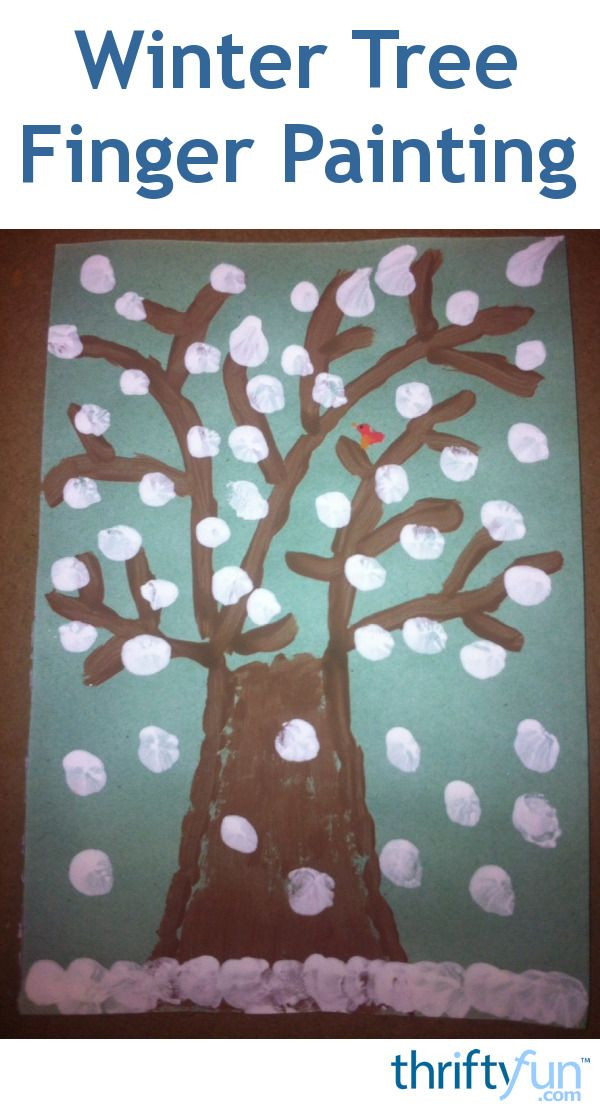 winter tree finger painting 114 best crafts for images on crafts for 5742