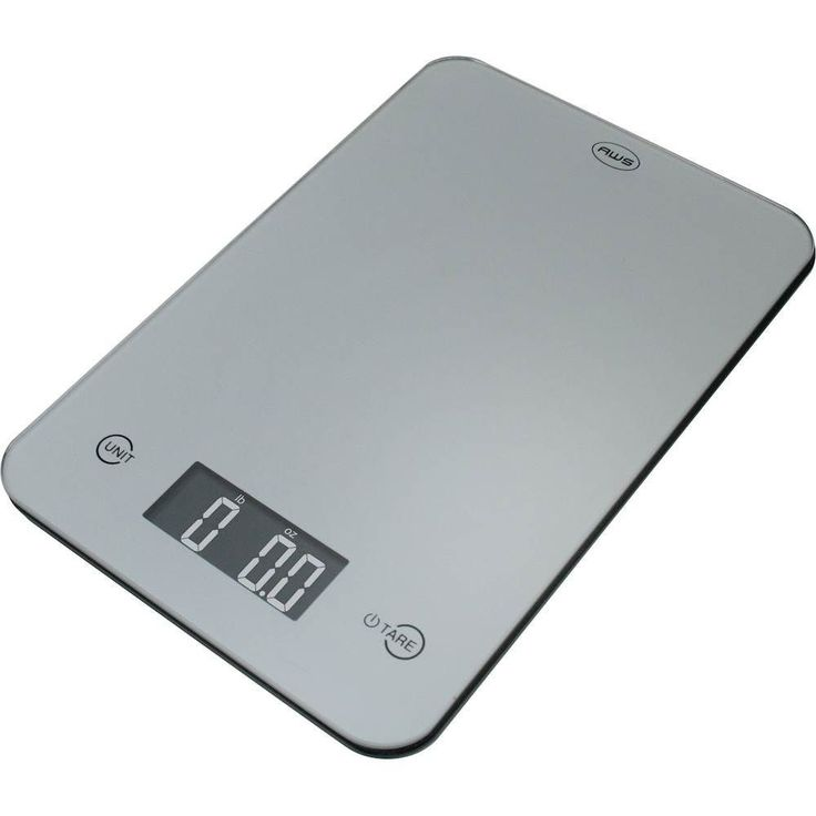 American Weigh Scales - Onyx Digital Kitchen Scale - Silver