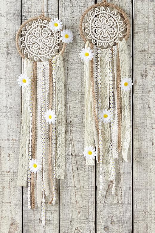 large dream catcher kit, DAISY DREAMING