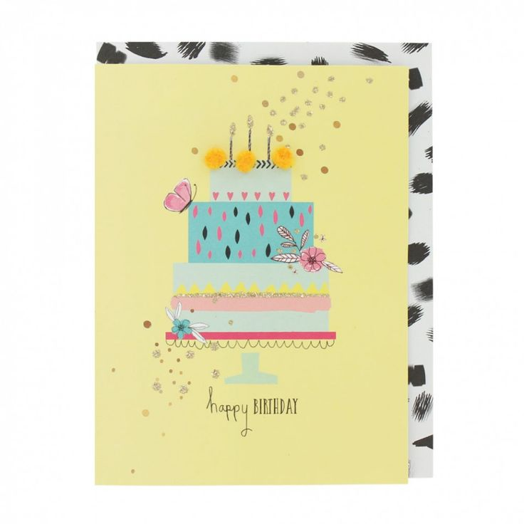 985 Best Greeting Cards Images On Pinterest Embroidery, Garlands   Birthday  Cake Card Template  Birthday Cake Card Template