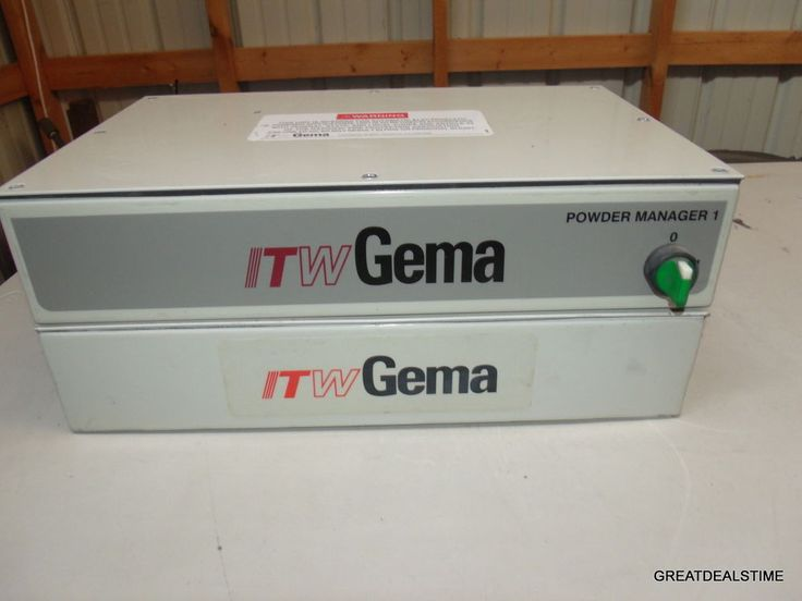 ITW Gema PGC Powder Coating Unit, Nordson,Wagner 2 Controllers #TOOLS #Nordson