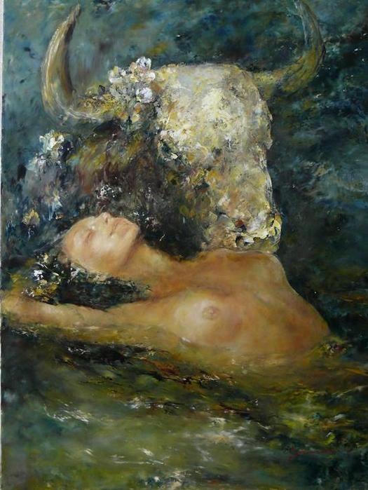 Nikolai Fedjajew - The Rape of Europa.