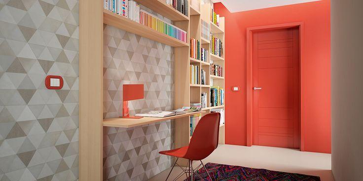 Idee per il corridoio: sfruttare al meglio gli spazi con una libreria – Leroy Merlin
