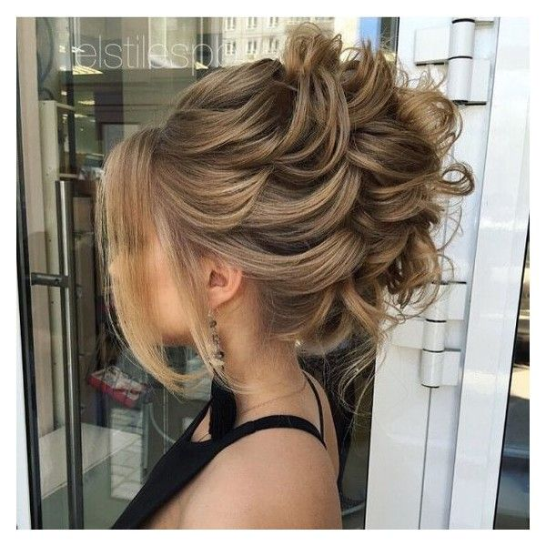 40 Most Delightful Prom Updos for Long Hair in 2017 ❤ liked on Polyvore featuring beauty products, haircare and hair styling tools