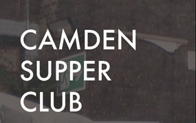 Thanks for the mention Love Camden regarding our 'Camden Supper Club' taking off this Wednesday in, you guessed it, Camden, London.